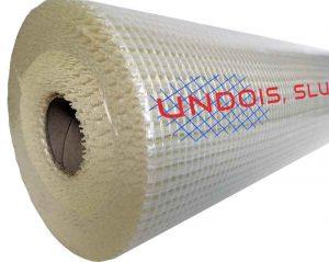 Malla de fibra de vidrio 160 gr/m² para rehabilitación y aislamiento térmico